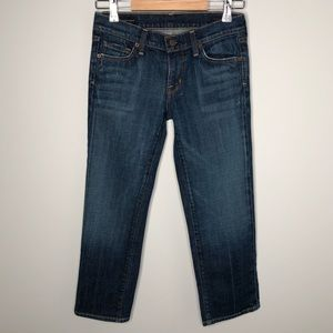 Citizens of Humanity Kelly #063 Cropped Jeans 25